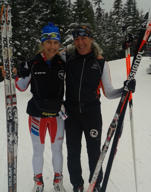 With Jacques Fecteau, the Rossignol ski guru who makes sure I have fast skis!