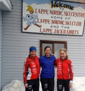 Nationals at Lappe with Ingrid and Logan last year