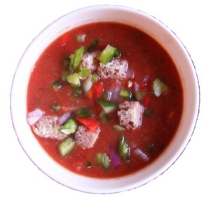 gazpacho no background