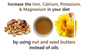 nuts, seeds, oils, with magnesium