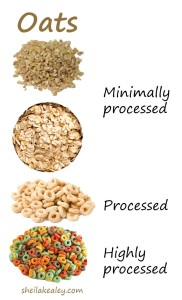 A good rule of thumb when it comes to grains is to opt for the least-processed form.