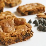 almond butter chocolate chip bar square small