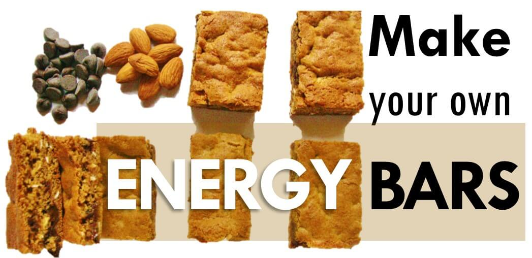 How to make your own energy bar