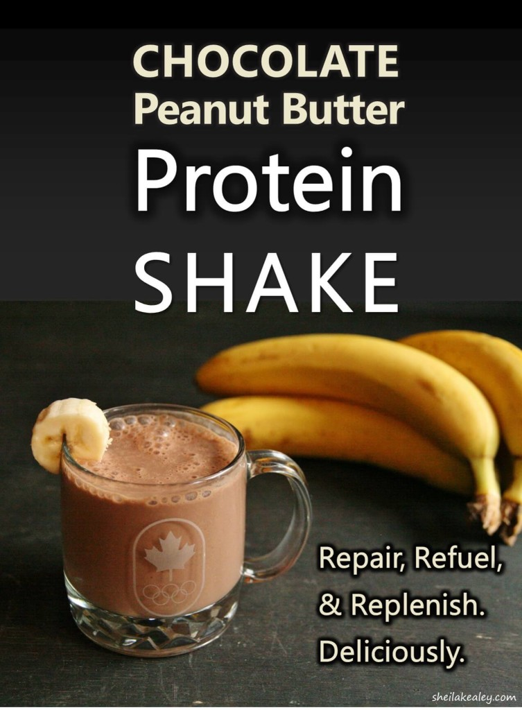 Chocolate Peanut Butter Protein Shake Vertical 2 Sm