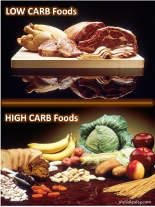 Choose healthy high carb foods