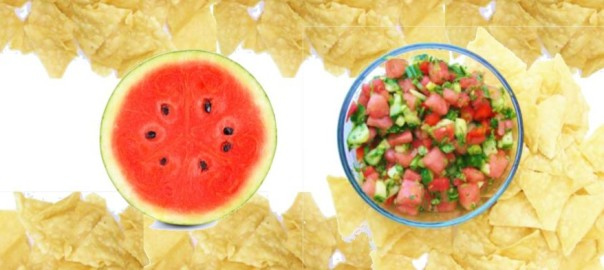 watermelon salsa with mint