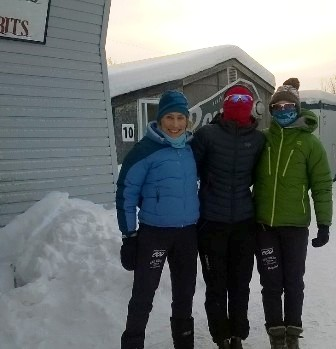 Dressed for the cold with Alex and Kyla! (Alex Slobodian Photo)