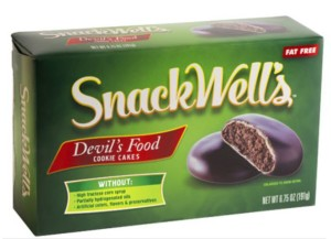 "The ""Snackwell Effect"" People eat more foods labeled as healthy/low fat"