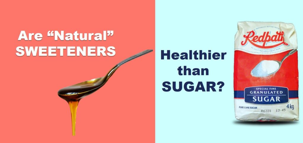 Are Natural Sweeteners Healthier Than Sugar Title