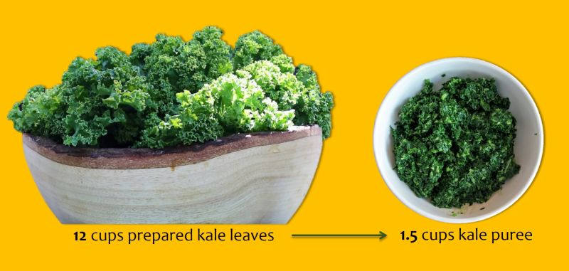 Kale Leaves To Puree Small