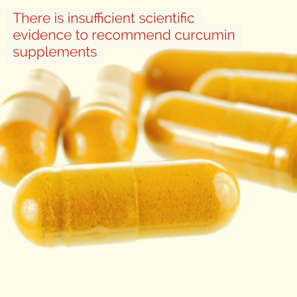 Curumin Supplements Scientific Evidence