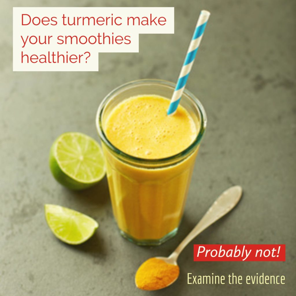 Turmeric Smoothie Healthy