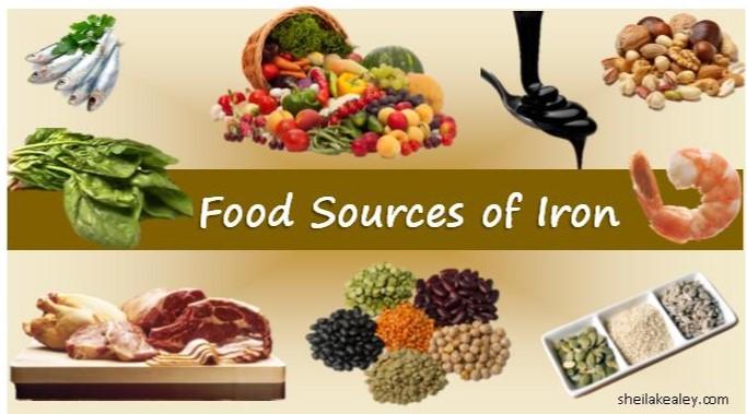 Iron Free Foods