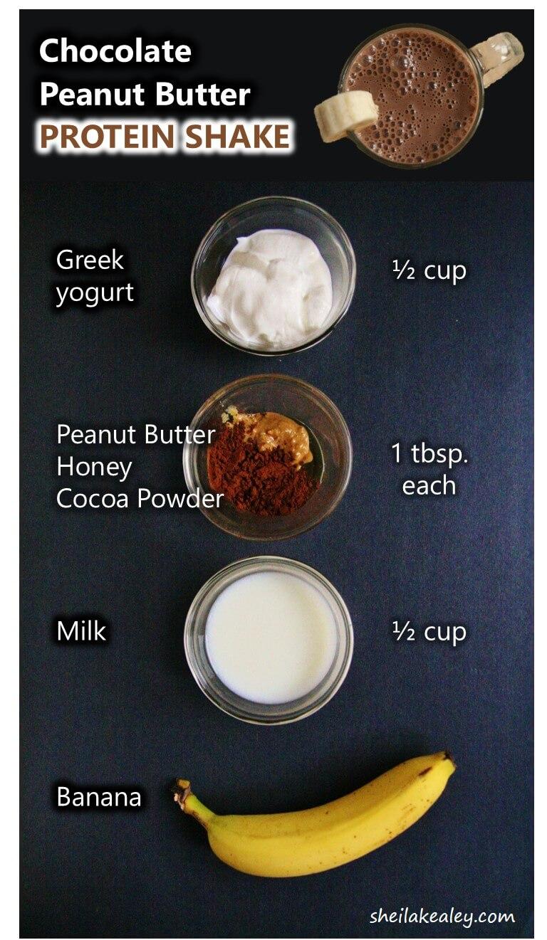 Chocolate Peanut Er Protein Shake Ings 4 Sm